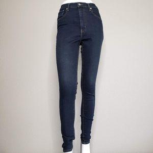 Levi's   Dark Wash Mile High Super Skinny Jeans 29